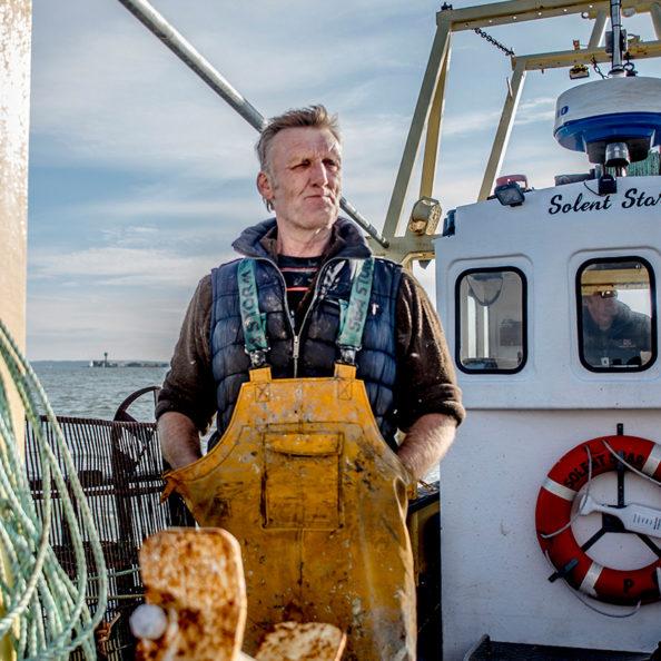 Pat Simmons Portsmouth Fishermen, Solent Lady