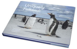 Photographic book on the Falkland Islands, Gail Baird , Dan Bernard, Andy Jackman, 160 pages of photography, Casebound, Dust Jacket, published 2014, Tricorn Books, 2014