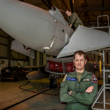 Typhoon Pilot, Mount Pleasant Air Base